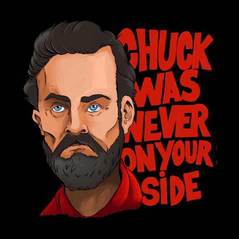 Chuck was never on your side Women's T-Shirt by Mansemat & Moloch