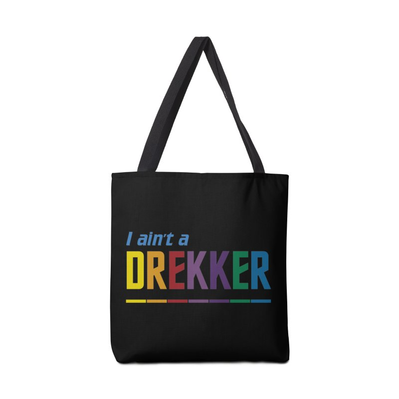 I ain't a Drekker Accessories Bag by Mansemat & Moloch