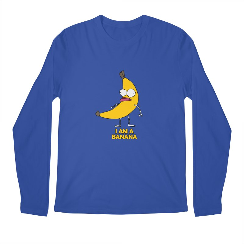 I am a BANANA Men's Longsleeve T-Shirt by Mansemat & Moloch