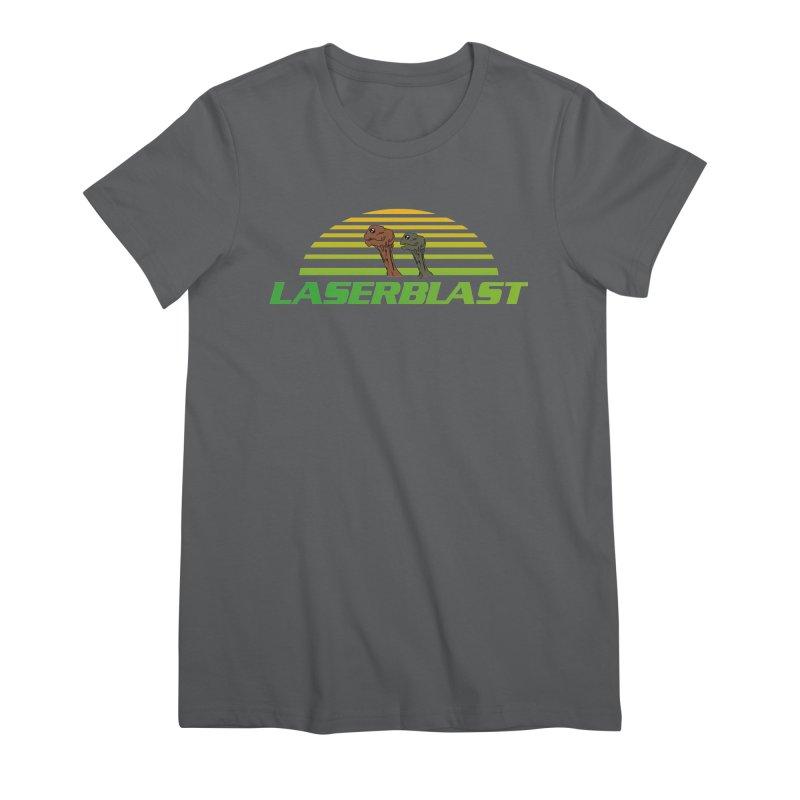 Laserblast Women's T-Shirt by Mansemat & Moloch