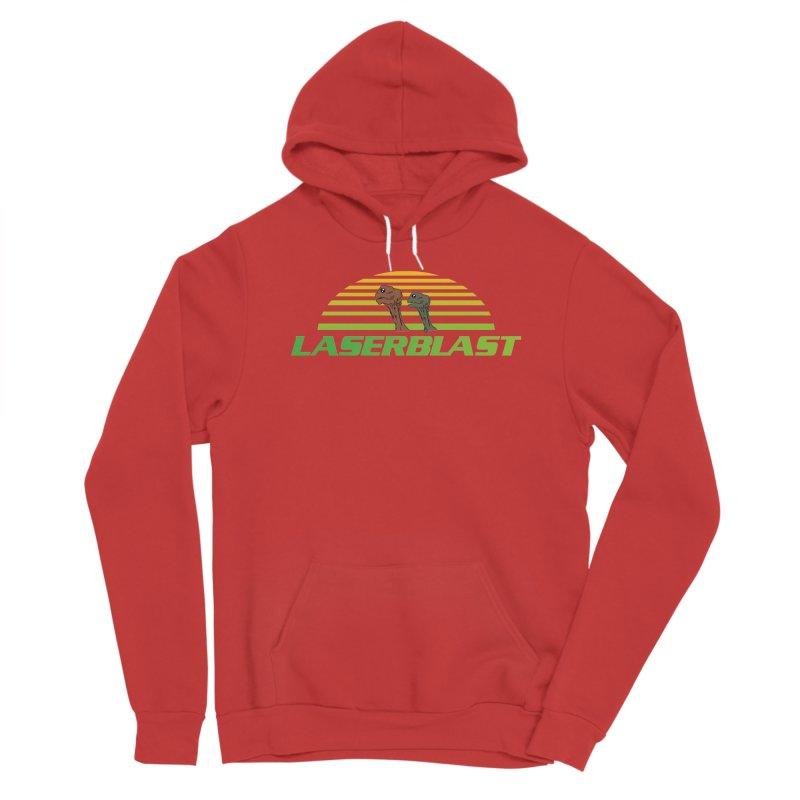 Laserblast Men's Pullover Hoody by Mansemat & Moloch