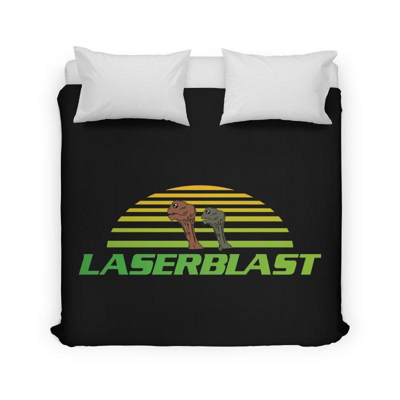 Laserblast Home Duvet by Mansemat & Moloch