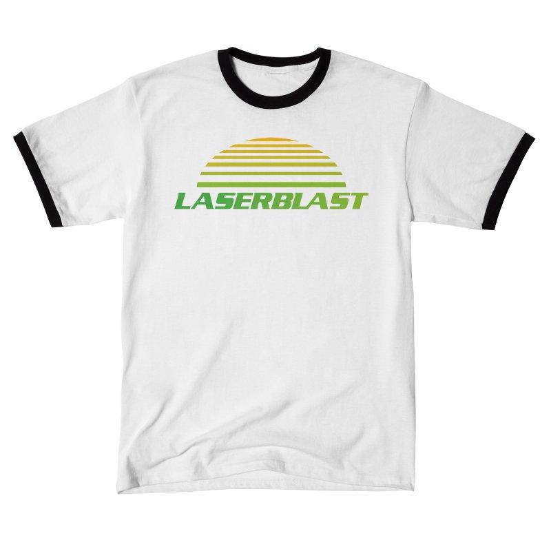 Laserblast Men's T-Shirt by Mansemat & Moloch