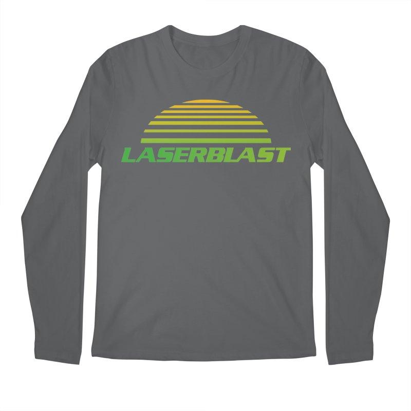 Laserblast Men's Longsleeve T-Shirt by Mansemat & Moloch