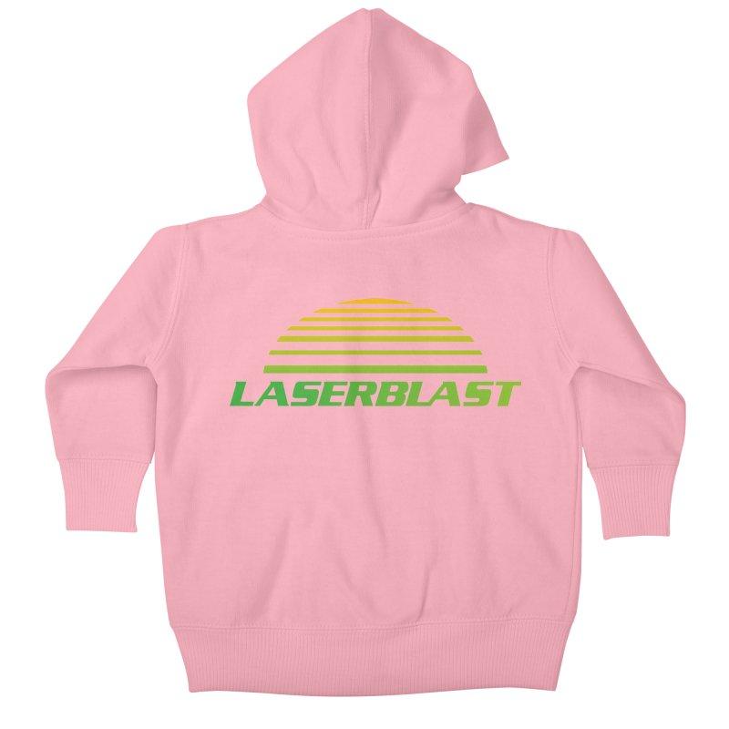 Laserblast Kids Baby Zip-Up Hoody by Mansemat & Moloch