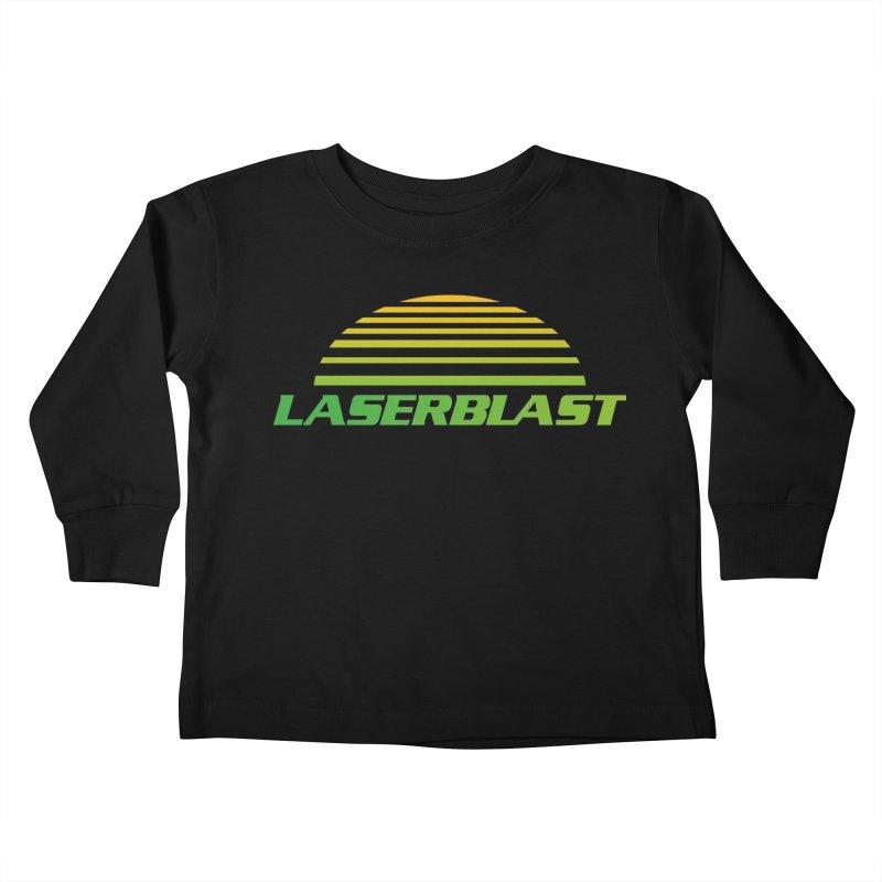 Laserblast Kids Toddler Longsleeve T-Shirt by Mansemat & Moloch