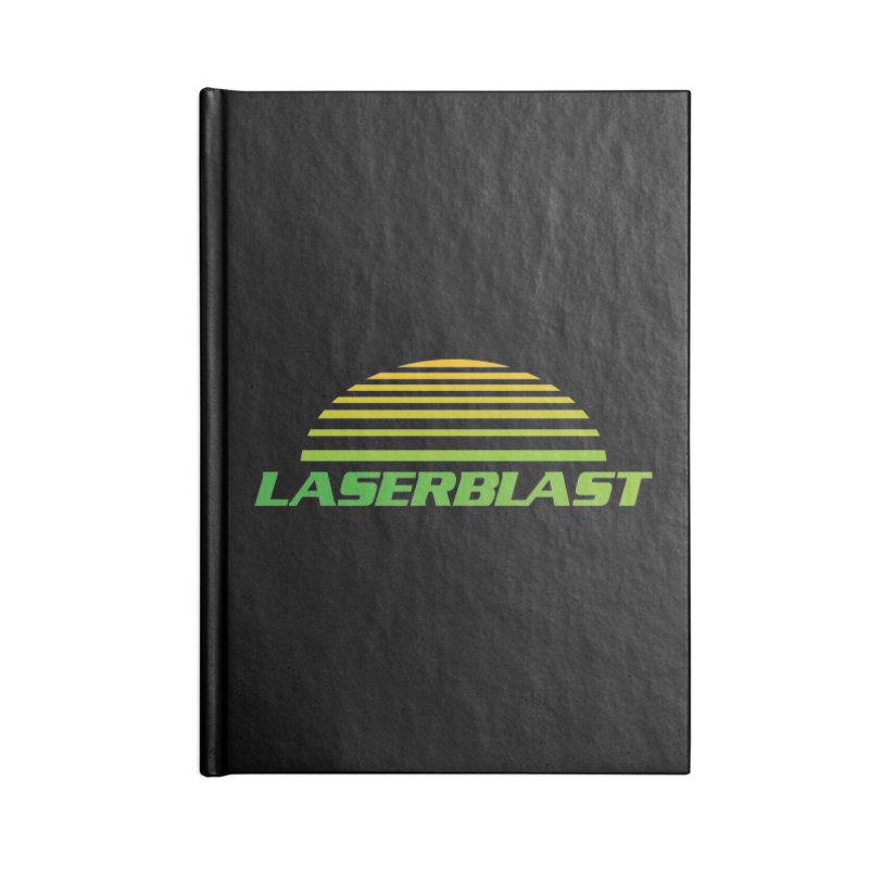 Laserblast Accessories Notebook by Mansemat & Moloch