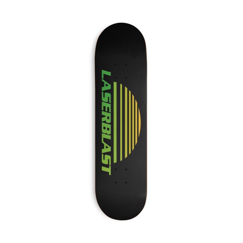 Laserblast Accessories Skateboard by Mansemat & Moloch