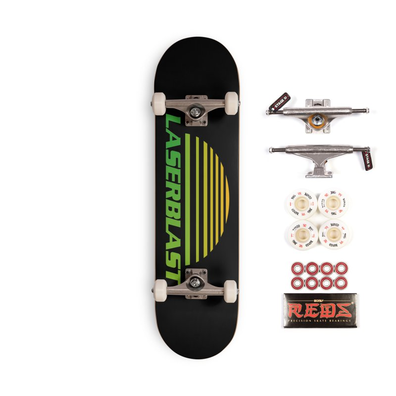 Laserblast Accessories Skateboard by Mansemat & Moloch