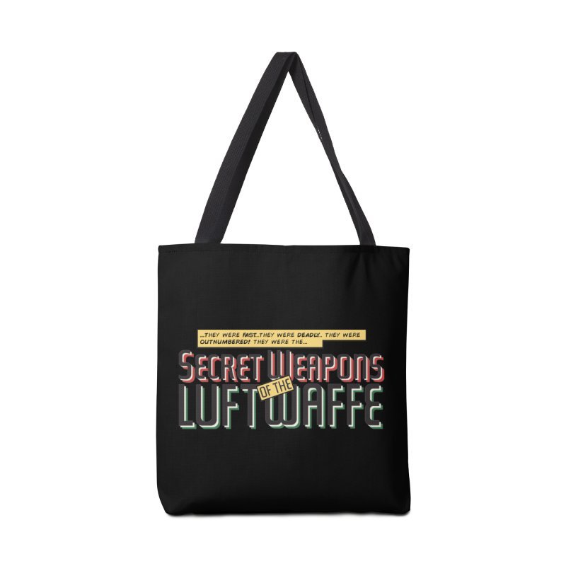 Secret Weapons of the Luftwaffe Accessories Bag by Mansemat & Moloch
