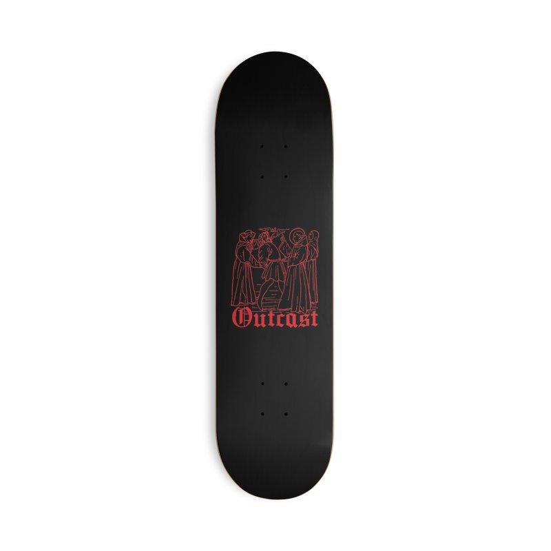 Outcast Accessories Skateboard by Mansemat & Moloch