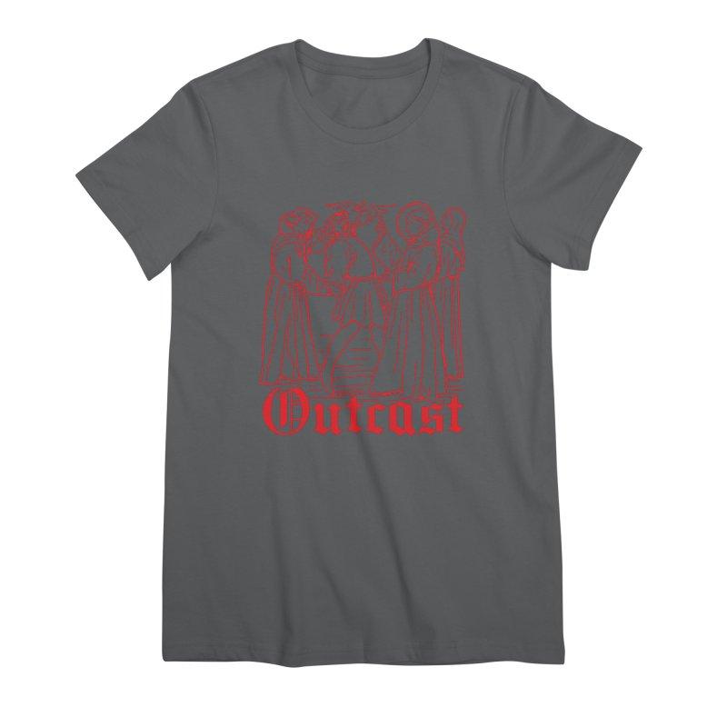 Outcast Women's T-Shirt by Mansemat & Moloch