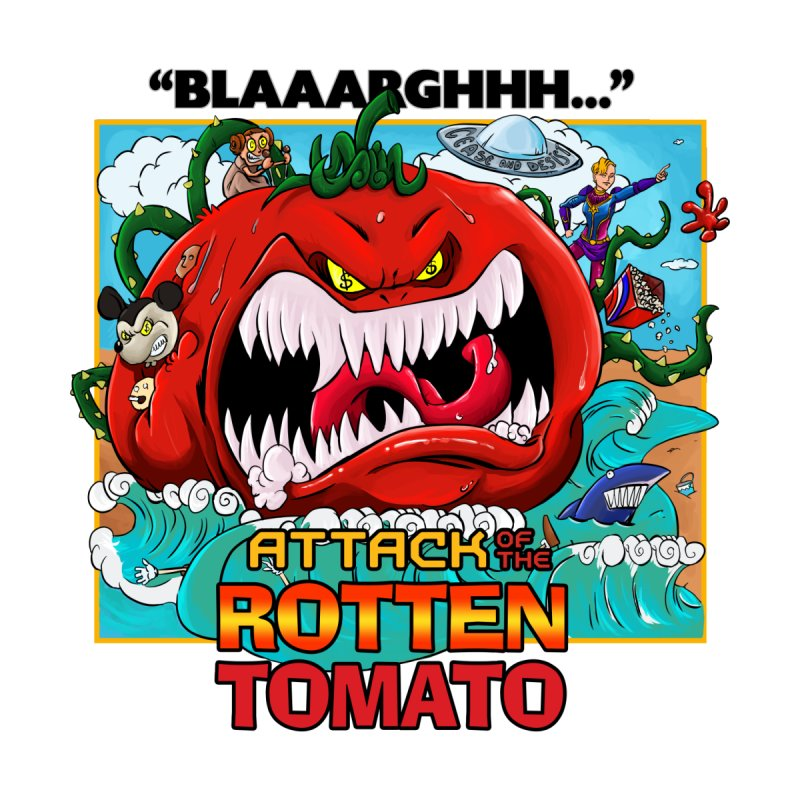Attack of the Rotten Tomato Men's T-Shirt by Mansemat & Moloch