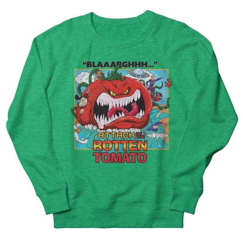 Attack of the Rotten Tomato Women's Sweatshirt by Mansemat & Moloch