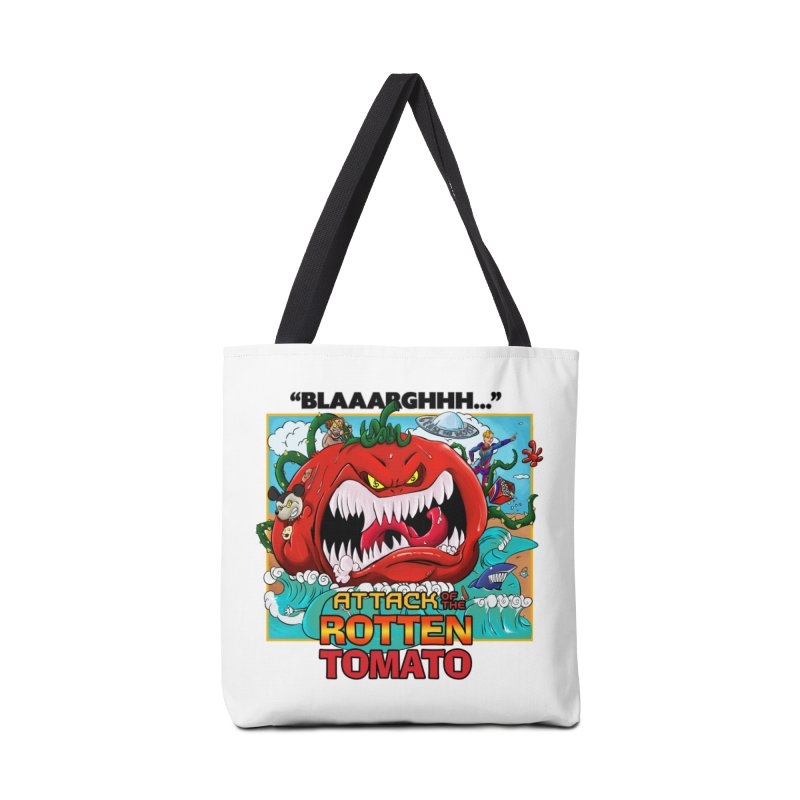 Attack of the Rotten Tomato Accessories Bag by Mansemat & Moloch