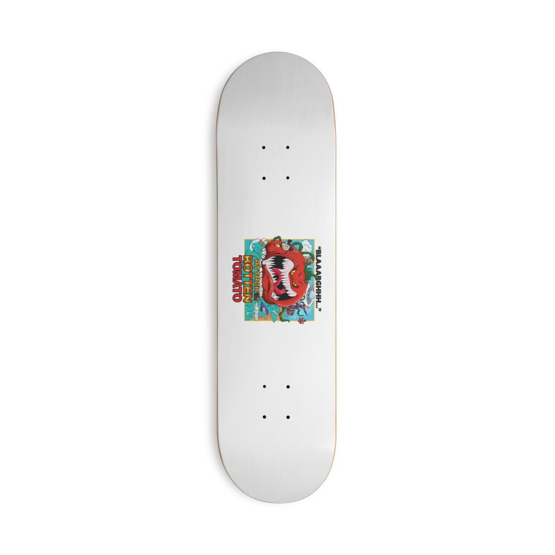 Attack of the Rotten Tomato Accessories Skateboard by Mansemat & Moloch