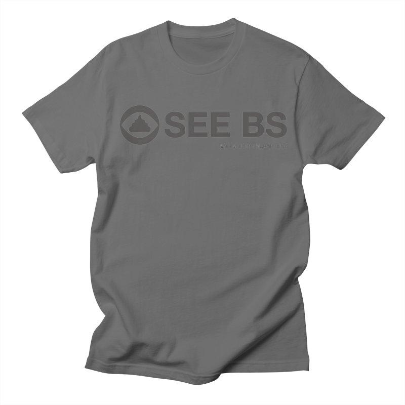 See BS Men's T-Shirt by Mansemat & Moloch