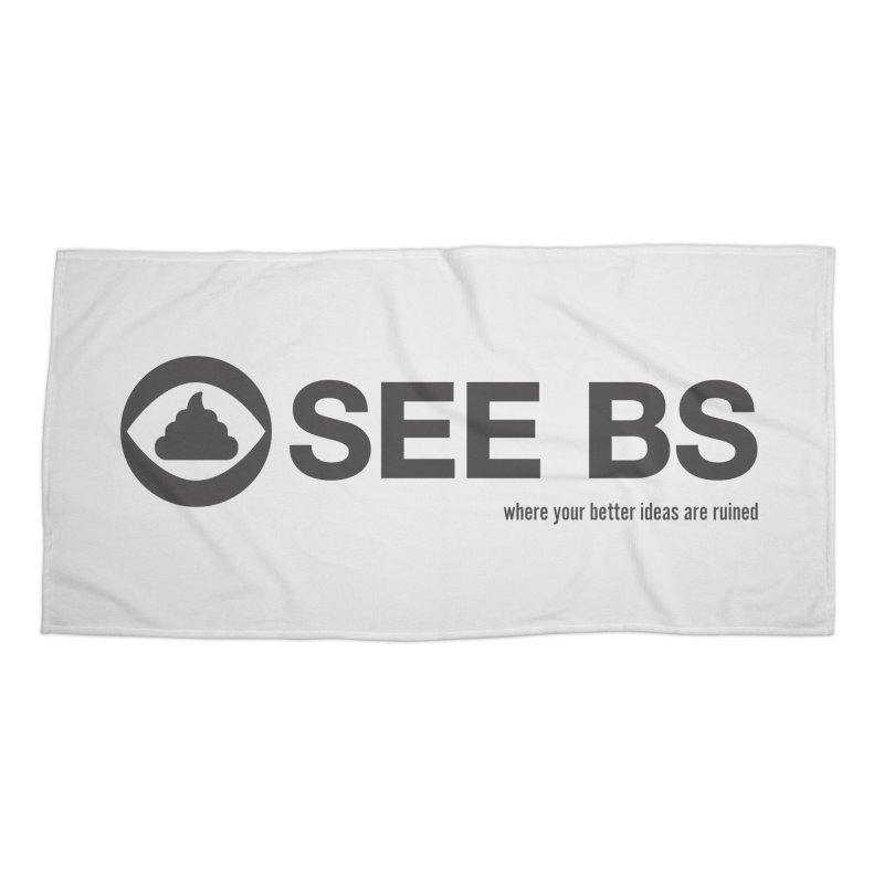 See BS Accessories Beach Towel by Mansemat & Moloch