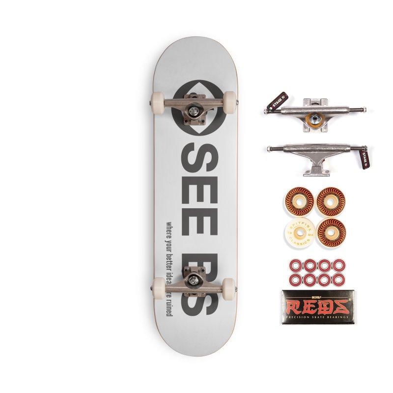 See BS Accessories Skateboard by Mansemat & Moloch