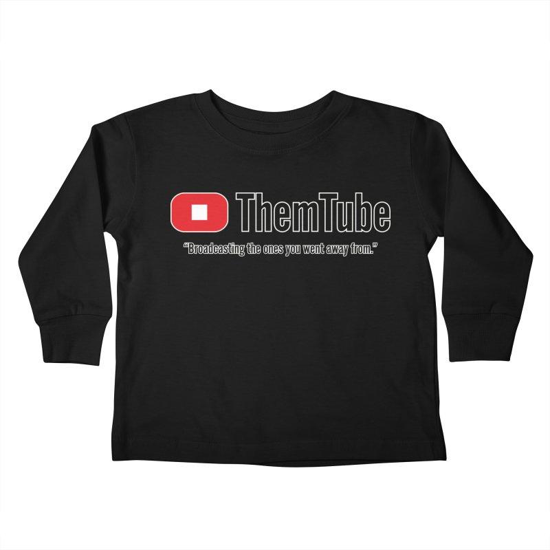Themtube Kids Toddler Longsleeve T-Shirt by Mansemat & Moloch