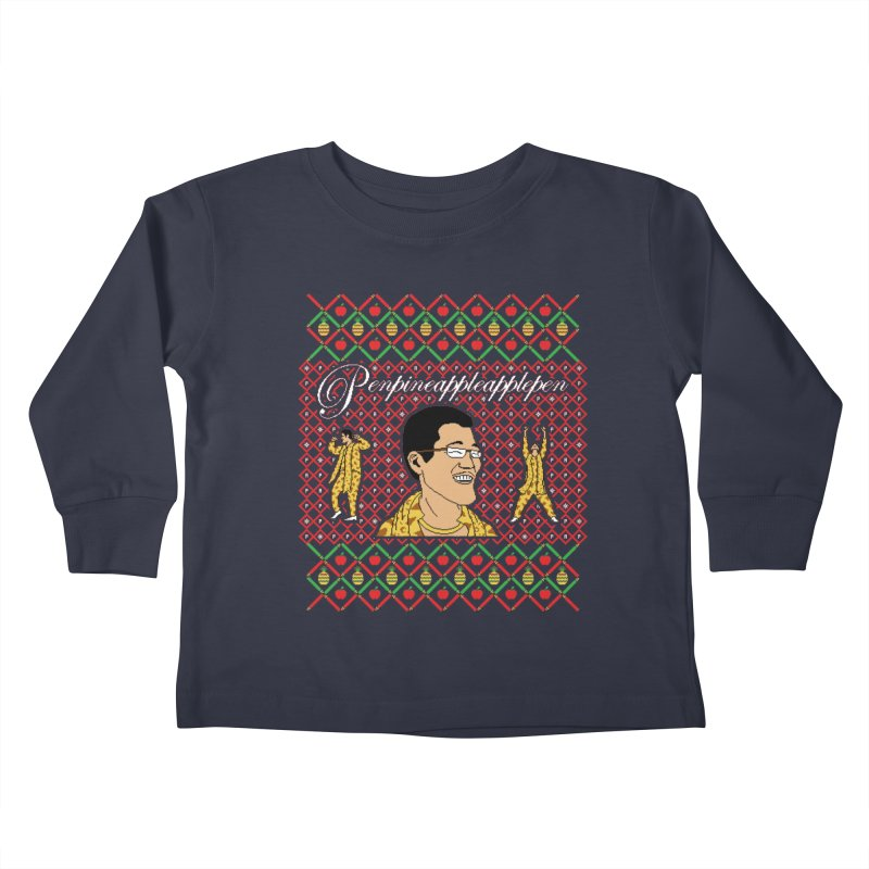 PPAP on earth! Kids Toddler Longsleeve T-Shirt by Mantichore Design