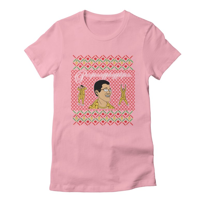 PPAP on earth! Women's Fitted T-Shirt by Mantichore's Artist Shop