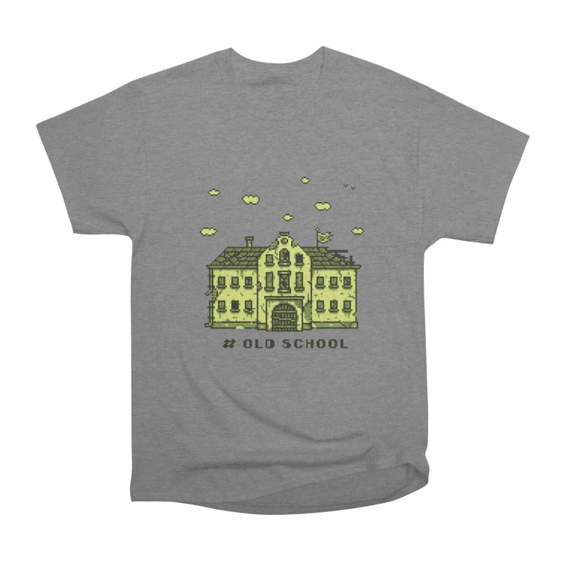 #oldschool Men's Heavyweight T-Shirt by Mantichore Design