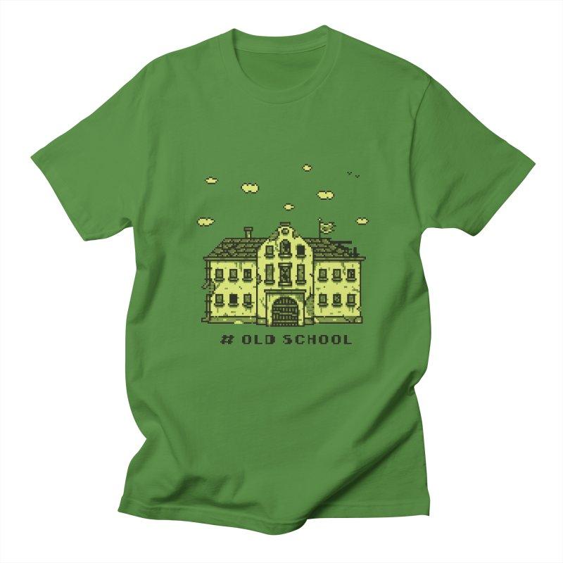 #oldschool Women's Regular Unisex T-Shirt by Mantichore Design