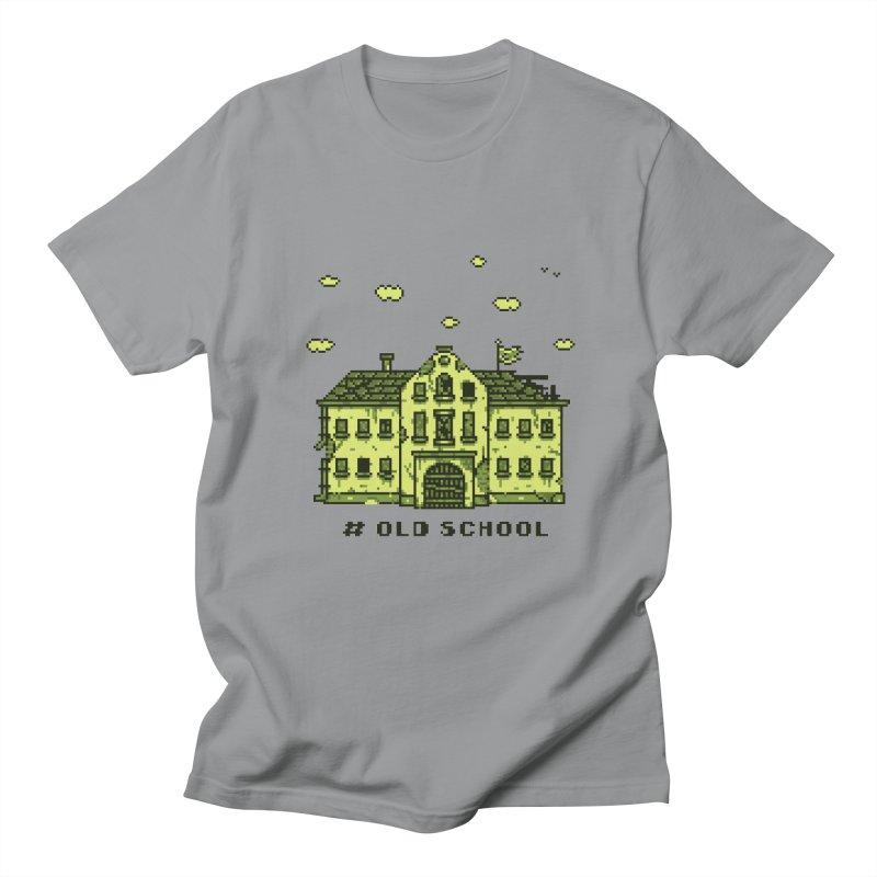 #oldschool Women's Unisex T-Shirt by Mantichore's Artist Shop