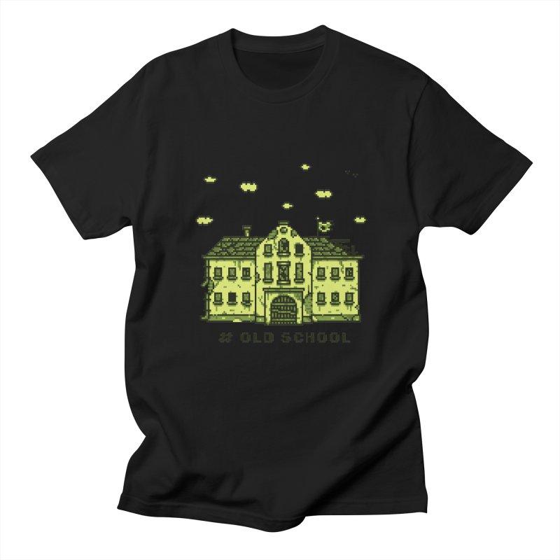 #oldschool Men's Regular T-Shirt by Mantichore Design