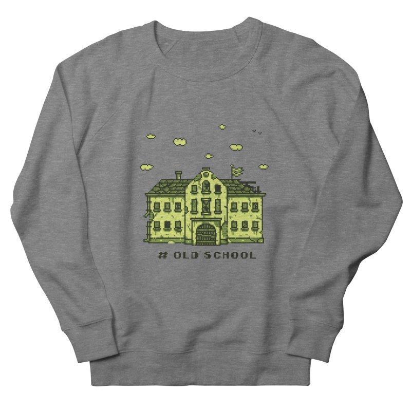 #oldschool Men's French Terry Sweatshirt by Mantichore Design