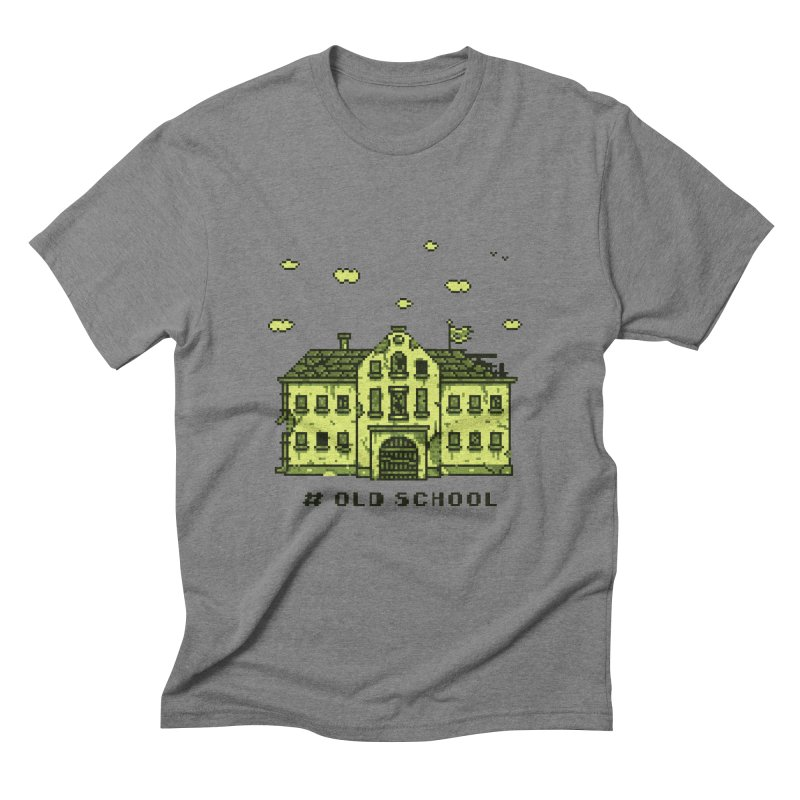 #oldschool Men's Triblend T-Shirt by Mantichore Design