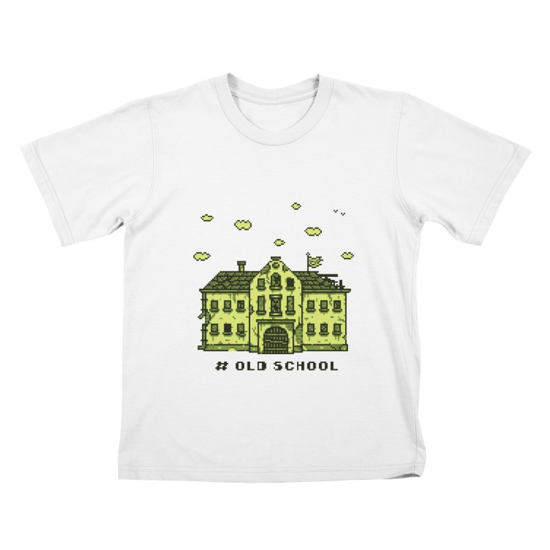 #oldschool Kids T-shirt by Mantichore's Artist Shop
