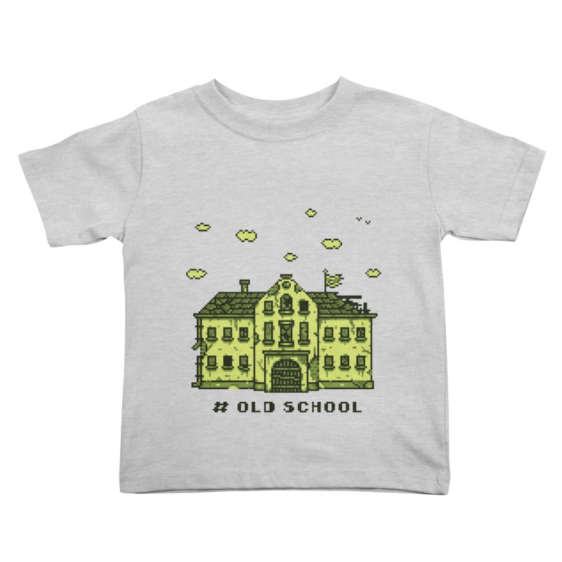 #oldschool Kids Toddler T-Shirt by Mantichore Design