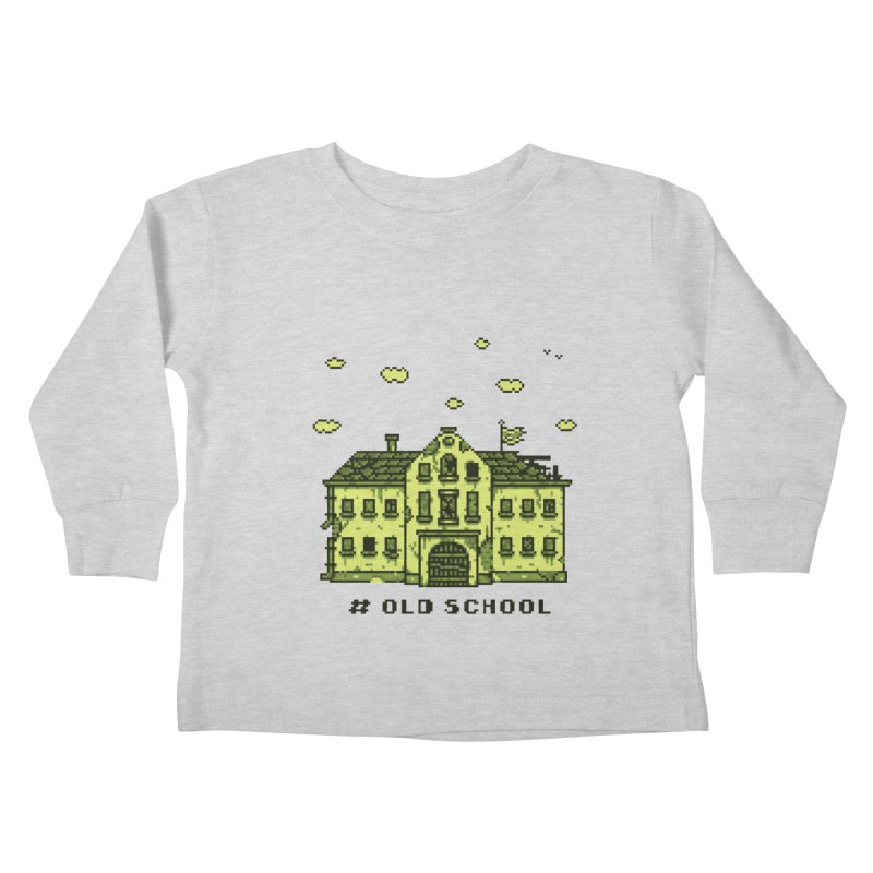 #oldschool Kids Toddler Longsleeve T-Shirt by Mantichore's Artist Shop