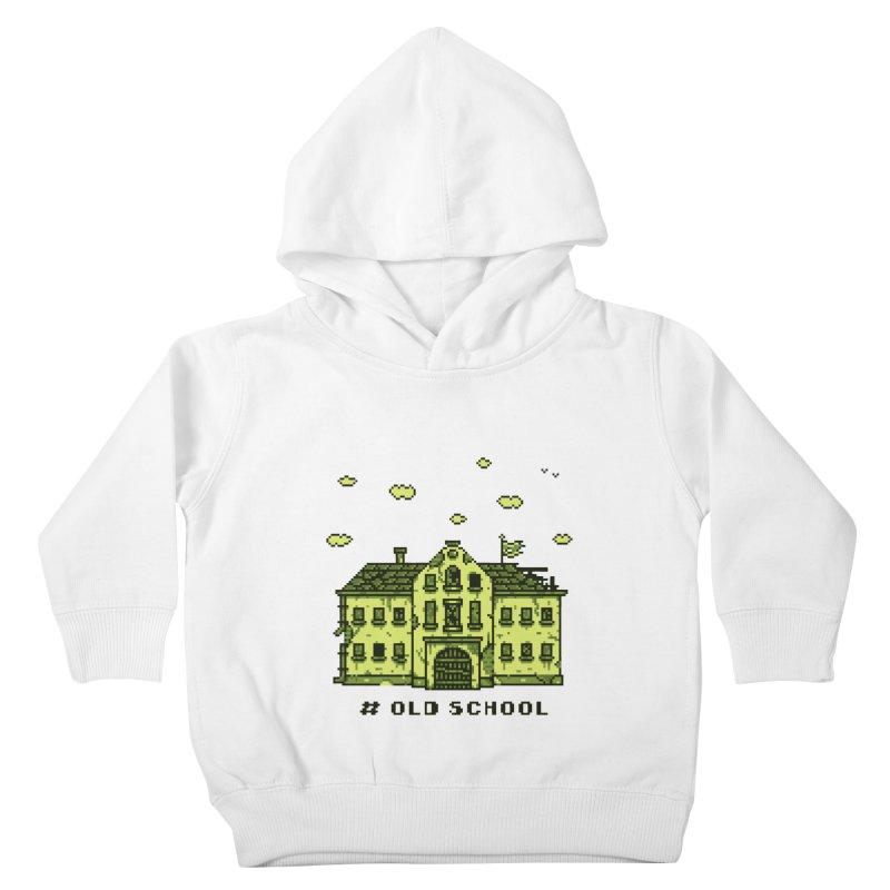 #oldschool Kids Toddler Pullover Hoody by Mantichore Design