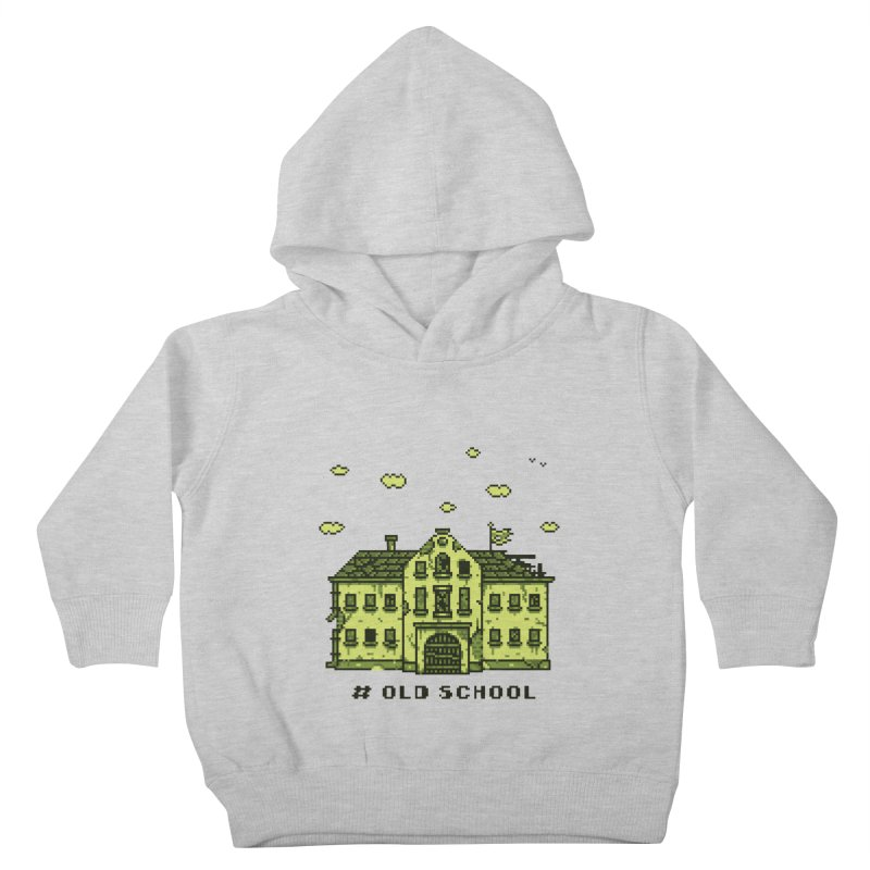 #oldschool Kids Toddler Pullover Hoody by Mantichore Design