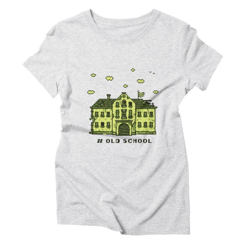 #oldschool Women's T-Shirt by Mantichore Design