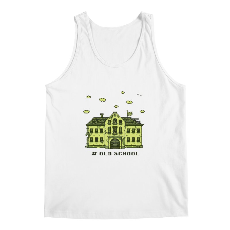 #oldschool Men's Regular Tank by Mantichore Design