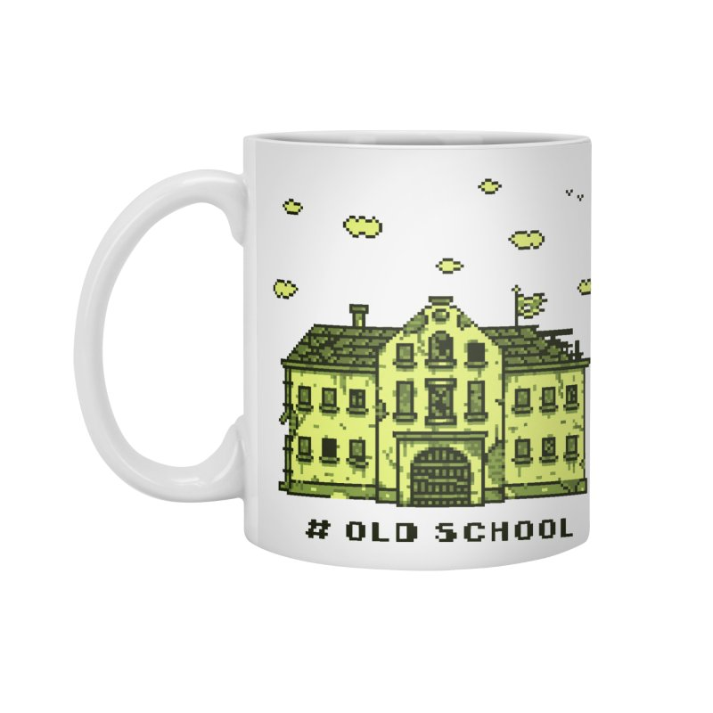 #oldschool Accessories Standard Mug by Mantichore Design