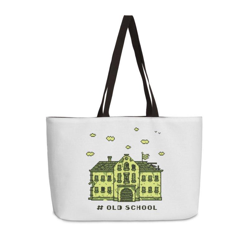 #oldschool Accessories Weekender Bag Bag by Mantichore Design