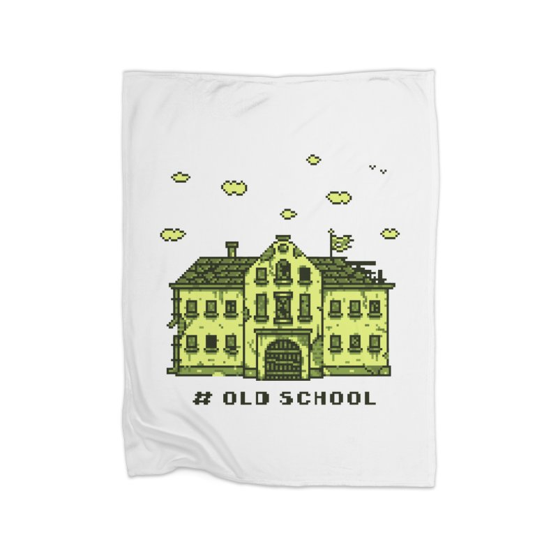#oldschool Home Blanket by Mantichore Design