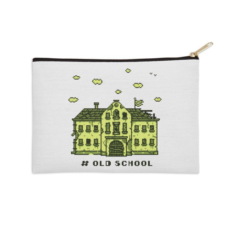 #oldschool Accessories Zip Pouch by Mantichore Design