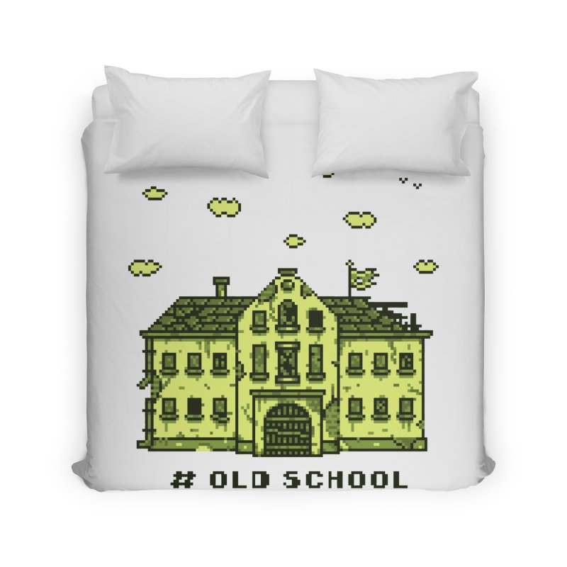 #oldschool Home Duvet by Mantichore Design