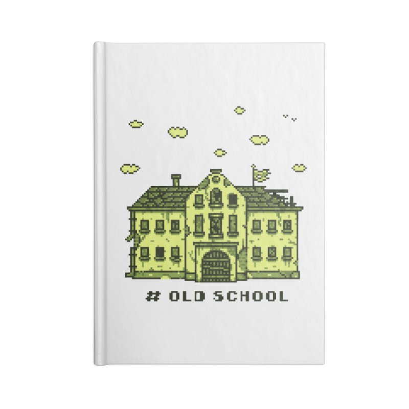 #oldschool Accessories Lined Journal Notebook by Mantichore Design