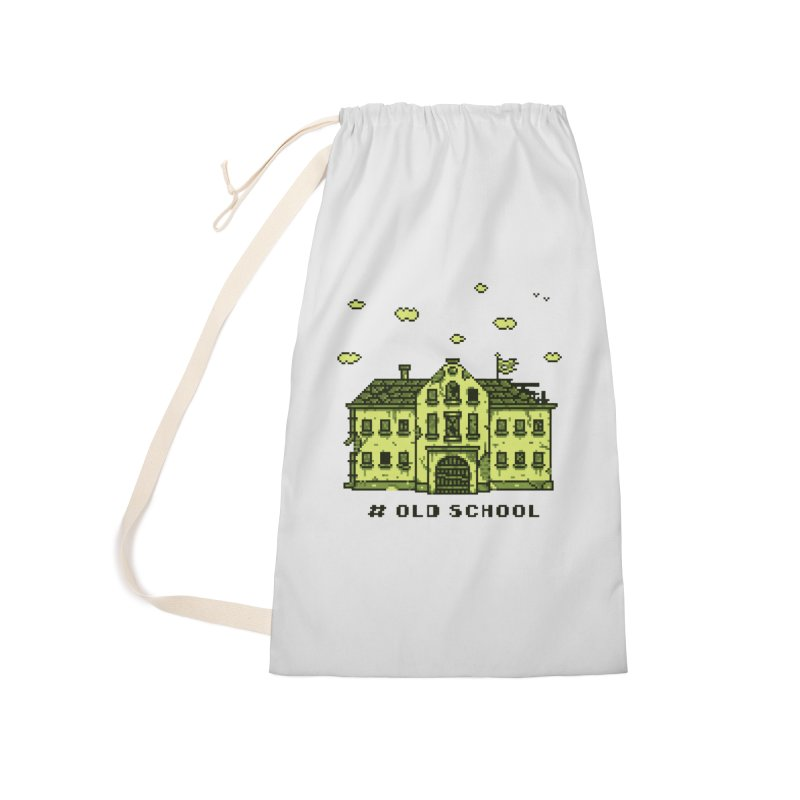 #oldschool Accessories Laundry Bag Bag by Mantichore Design