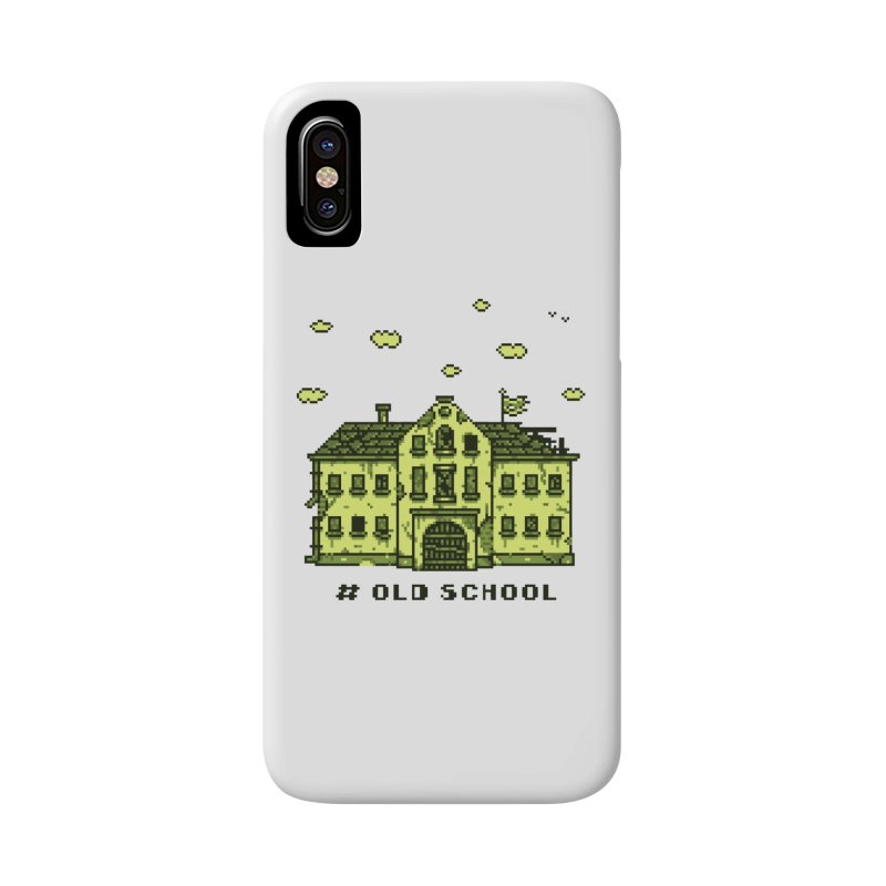 #oldschool Accessories Phone Case by Mantichore Design