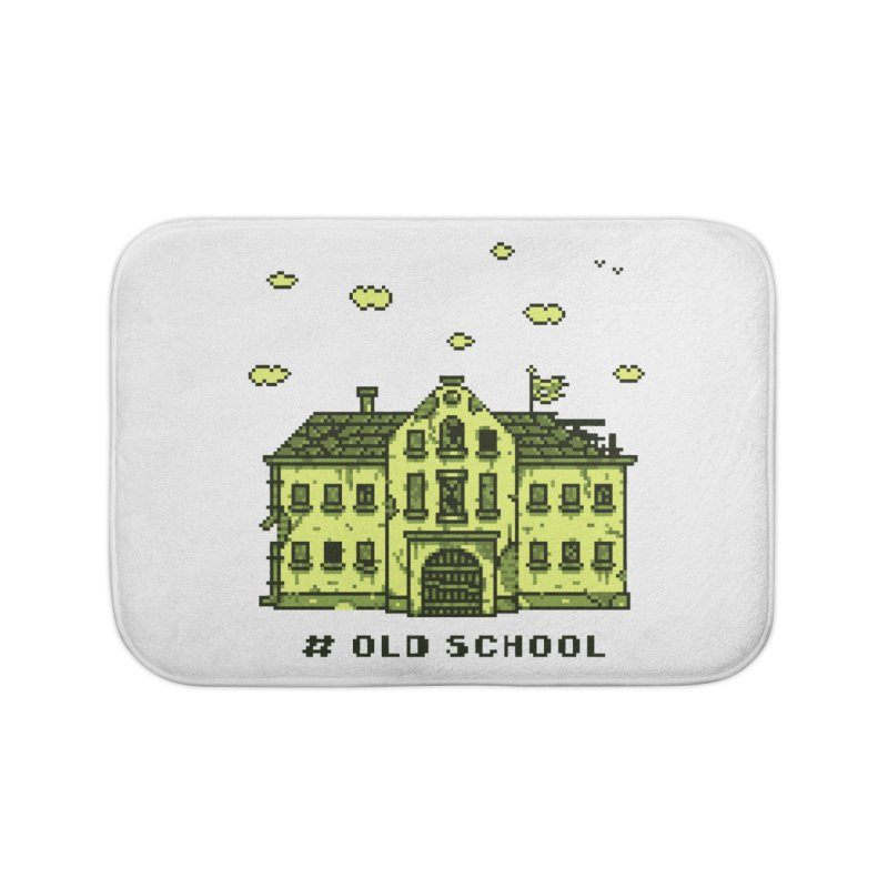 #oldschool Home Bath Mat by Mantichore Design