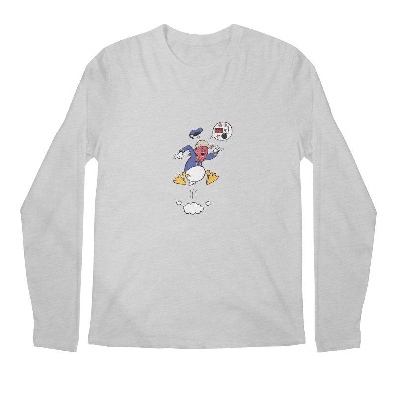Donald Men's Regular Longsleeve T-Shirt by Mantichore Design