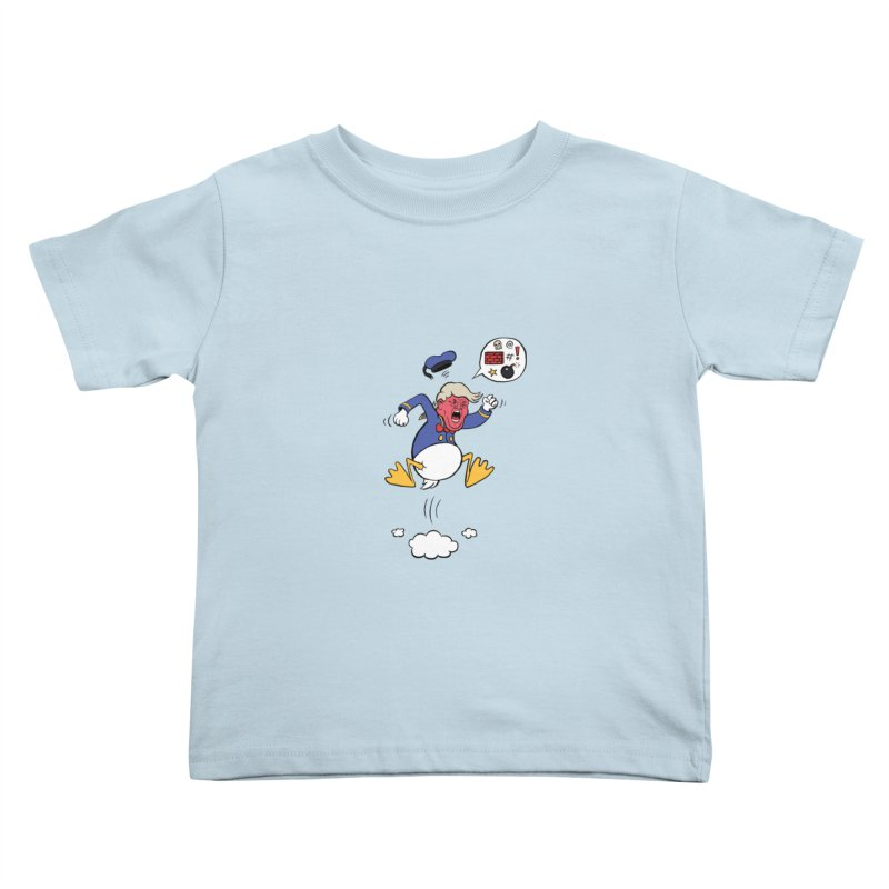 Donald Kids Toddler T-Shirt by Mantichore's Artist Shop